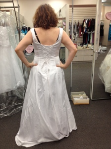 I show you my backside, wedding planning crap!